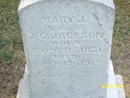 JACKSON, MARY J. - Mississippi County, Arkansas | MARY J. JACKSON - Arkansas Gravestone Photos