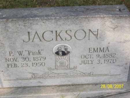 JACKSON, EMMA - Mississippi County, Arkansas | EMMA JACKSON - Arkansas Gravestone Photos