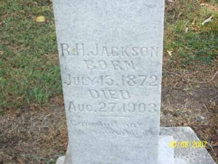 JACKSON, R. H. 'RED' - Mississippi County, Arkansas | R. H. 'RED' JACKSON - Arkansas Gravestone Photos