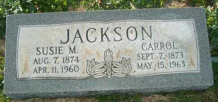 JACKSON, CARROL - Mississippi County, Arkansas | CARROL JACKSON - Arkansas Gravestone Photos