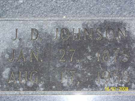 JOHNSON, J. D. - Mississippi County, Arkansas | J. D. JOHNSON - Arkansas Gravestone Photos
