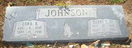 JOHNSON, SR, HARRY T - Mississippi County, Arkansas | HARRY T JOHNSON, SR - Arkansas Gravestone Photos