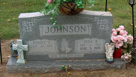 JOHNSON, NINA B - Mississippi County, Arkansas | NINA B JOHNSON - Arkansas Gravestone Photos