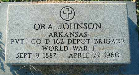 JOHNSON (VETERAN WWI), ORA - Mississippi County, Arkansas | ORA JOHNSON (VETERAN WWI) - Arkansas Gravestone Photos