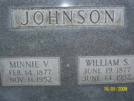 JOHNSON, MINNIE V. - Mississippi County, Arkansas | MINNIE V. JOHNSON - Arkansas Gravestone Photos