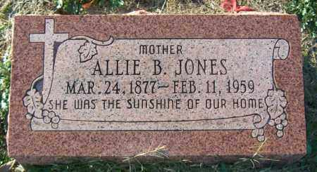JONES, ALLIE B - Mississippi County, Arkansas | ALLIE B JONES - Arkansas Gravestone Photos