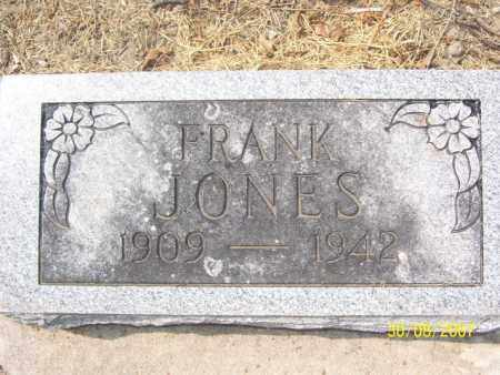 JONES, FRANK - Mississippi County, Arkansas | FRANK JONES - Arkansas Gravestone Photos