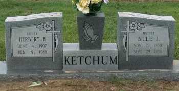 KETCHUM, HERBERT H - Mississippi County, Arkansas | HERBERT H KETCHUM - Arkansas Gravestone Photos
