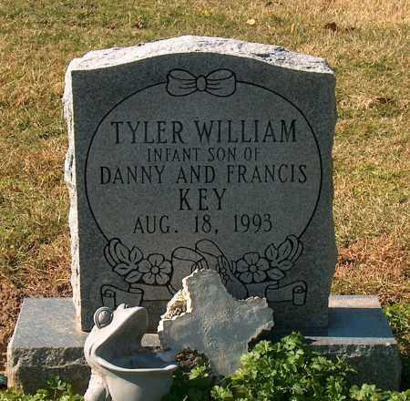 KEY, TYLER WILLIAM - Mississippi County, Arkansas   TYLER WILLIAM KEY - Arkansas Gravestone Photos