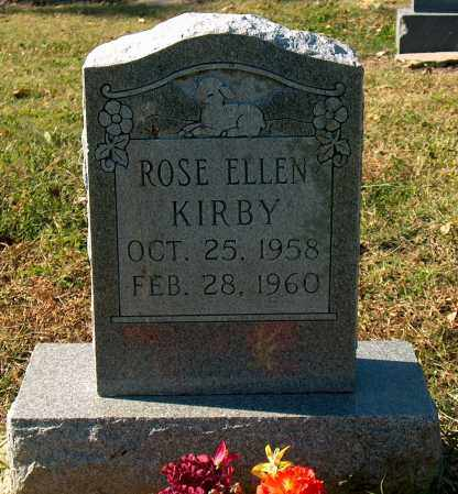 KIRBY, ROSE ELLEN - Mississippi County, Arkansas | ROSE ELLEN KIRBY - Arkansas Gravestone Photos
