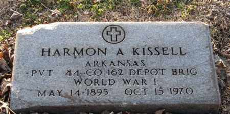 KISSELL (VETERAN WWI), HARMON A - Mississippi County, Arkansas | HARMON A KISSELL (VETERAN WWI) - Arkansas Gravestone Photos