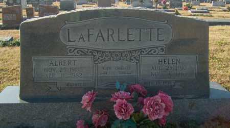 LAFARLETTE, ALBERT - Mississippi County, Arkansas | ALBERT LAFARLETTE - Arkansas Gravestone Photos