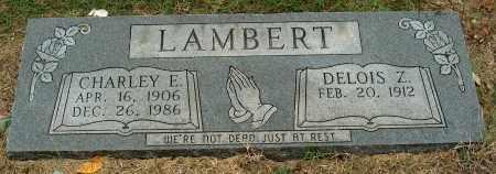 LAMBERT, CHARLEY E - Mississippi County, Arkansas | CHARLEY E LAMBERT - Arkansas Gravestone Photos