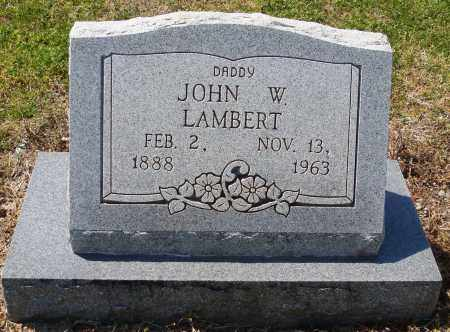 LAMBERT, JOHN W - Mississippi County, Arkansas | JOHN W LAMBERT - Arkansas Gravestone Photos
