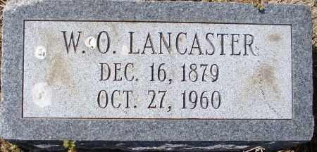 LANCASTER, W O - Mississippi County, Arkansas | W O LANCASTER - Arkansas Gravestone Photos
