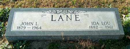 LANE, JOHN L - Mississippi County, Arkansas | JOHN L LANE - Arkansas Gravestone Photos