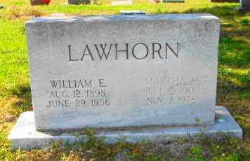 LAWHORN, WILLIAM E - Mississippi County, Arkansas | WILLIAM E LAWHORN - Arkansas Gravestone Photos