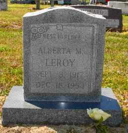 LEROY, ALBERTA M - Mississippi County, Arkansas | ALBERTA M LEROY - Arkansas Gravestone Photos