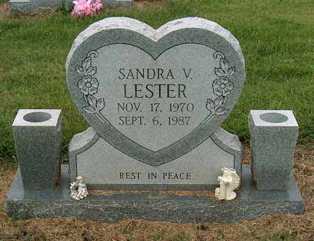 LESTER, SANDRA V - Mississippi County, Arkansas | SANDRA V LESTER - Arkansas Gravestone Photos