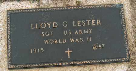 LESTER (VETERAN WWII), LLOYD G - Mississippi County, Arkansas | LLOYD G LESTER (VETERAN WWII) - Arkansas Gravestone Photos