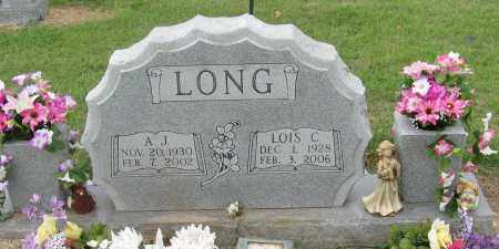 LONG, A.J. - Mississippi County, Arkansas | A.J. LONG - Arkansas Gravestone Photos