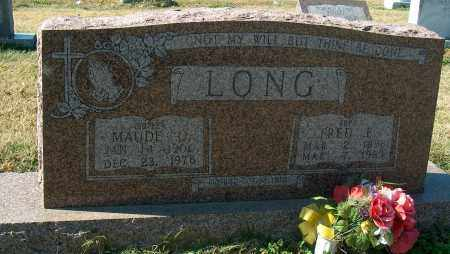 LONG, MAUDE O - Mississippi County, Arkansas | MAUDE O LONG - Arkansas Gravestone Photos