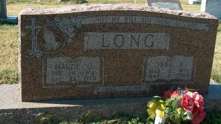 LONG, MAUDE O - Mississippi County, Arkansas | MAUDE O LONG - Arkansas Gravestone Photos