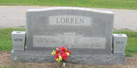LORREN, CLARENCE - Mississippi County, Arkansas | CLARENCE LORREN - Arkansas Gravestone Photos