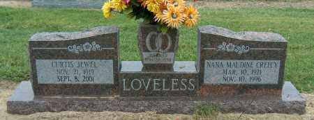 LOVELESS, CURTIS JEWEL - Mississippi County, Arkansas | CURTIS JEWEL LOVELESS - Arkansas Gravestone Photos