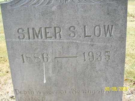 LOW, SIMER SIDNEY - Mississippi County, Arkansas | SIMER SIDNEY LOW - Arkansas Gravestone Photos