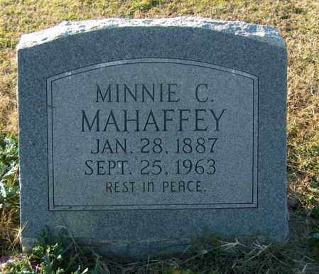 MAHAFFEY, MINNIE C - Mississippi County, Arkansas | MINNIE C MAHAFFEY - Arkansas Gravestone Photos