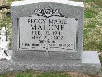 MALONE, PEGGY MARIE - Mississippi County, Arkansas | PEGGY MARIE MALONE - Arkansas Gravestone Photos