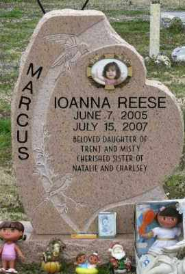 MARCUS, IOANNA REESE - Mississippi County, Arkansas | IOANNA REESE MARCUS - Arkansas Gravestone Photos