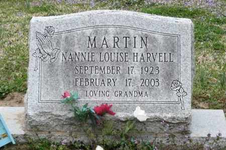 MARTIN, NANNIE LOUISE HARVELL - Mississippi County, Arkansas | NANNIE LOUISE HARVELL MARTIN - Arkansas Gravestone Photos