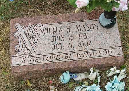 MASON, WILMA H - Mississippi County, Arkansas | WILMA H MASON - Arkansas Gravestone Photos