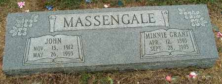 GRANT MASSENGALE, MINNIE - Mississippi County, Arkansas | MINNIE GRANT MASSENGALE - Arkansas Gravestone Photos