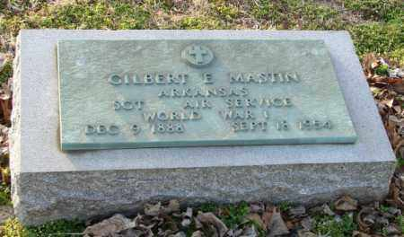 MASTIN (VETERAN WWI), GILBERT E. - Mississippi County, Arkansas | GILBERT E. MASTIN (VETERAN WWI) - Arkansas Gravestone Photos