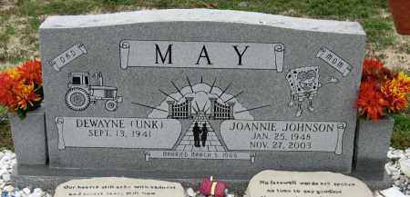 JOHNSON MAY, JOANNIE - Mississippi County, Arkansas | JOANNIE JOHNSON MAY - Arkansas Gravestone Photos