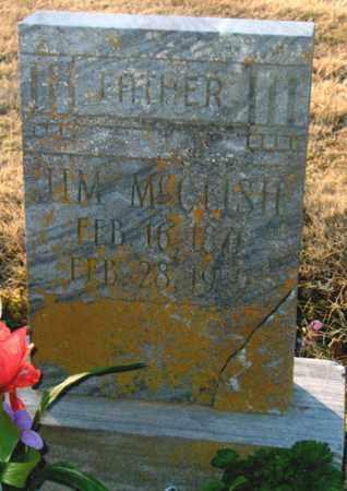 MCCLISH, JIM - Mississippi County, Arkansas | JIM MCCLISH - Arkansas Gravestone Photos