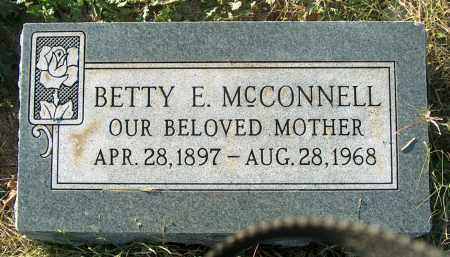 MCCONNELL, BETTY E - Mississippi County, Arkansas | BETTY E MCCONNELL - Arkansas Gravestone Photos