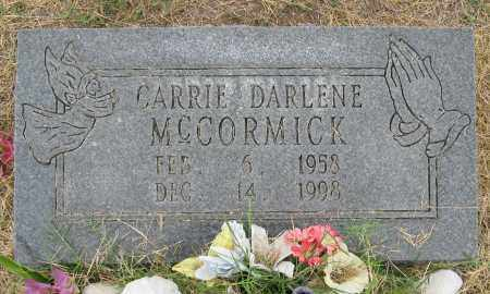 MCCORMICK, CARRIE DARLENE - Mississippi County, Arkansas | CARRIE DARLENE MCCORMICK - Arkansas Gravestone Photos