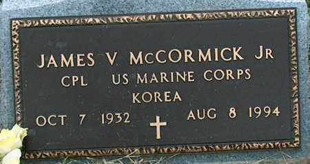 MCCORMICK JR. (VETERAN KOR), JAMES V - Mississippi County, Arkansas | JAMES V MCCORMICK JR. (VETERAN KOR) - Arkansas Gravestone Photos
