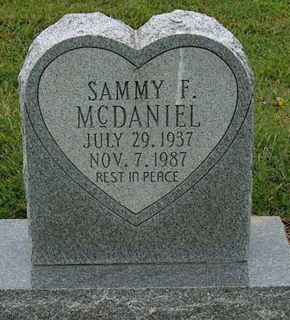 MCDANIEL, SAMMY F - Mississippi County, Arkansas | SAMMY F MCDANIEL - Arkansas Gravestone Photos