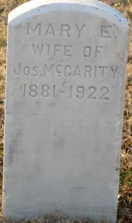MCGARITY, MARY E. - Mississippi County, Arkansas | MARY E. MCGARITY - Arkansas Gravestone Photos