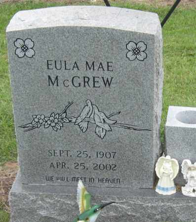 MCGREW, EULA MAE - Mississippi County, Arkansas | EULA MAE MCGREW - Arkansas Gravestone Photos
