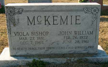 BISHOP MCKEMIE, VIOLA - Mississippi County, Arkansas | VIOLA BISHOP MCKEMIE - Arkansas Gravestone Photos