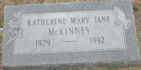MCKINNEY, KATHERINE MARY JANE - Mississippi County, Arkansas | KATHERINE MARY JANE MCKINNEY - Arkansas Gravestone Photos
