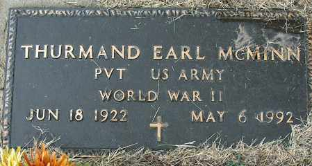 MCMINN (VETERAN WWII), THURMAND EARL - Mississippi County, Arkansas | THURMAND EARL MCMINN (VETERAN WWII) - Arkansas Gravestone Photos