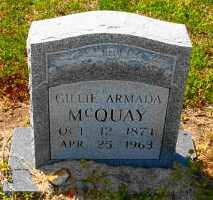 MCQUAY, GILLIE ARMADA - Mississippi County, Arkansas | GILLIE ARMADA MCQUAY - Arkansas Gravestone Photos