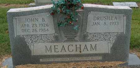 MEACHAM, JOHN B - Mississippi County, Arkansas | JOHN B MEACHAM - Arkansas Gravestone Photos
